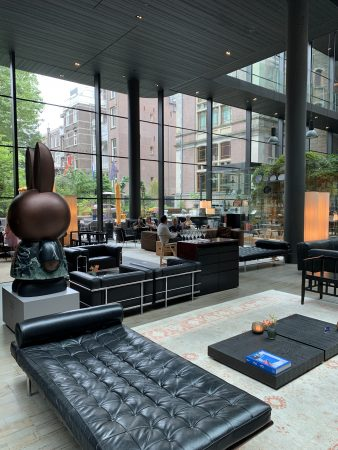 Le lobby du Conservatorium Amsterdam
